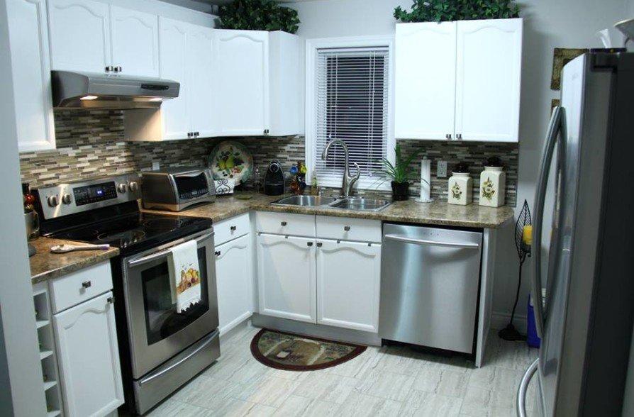 Kitchen demolition and renovation
